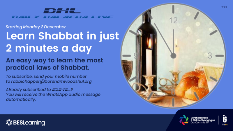 Learn Shabbat in 2 minutes